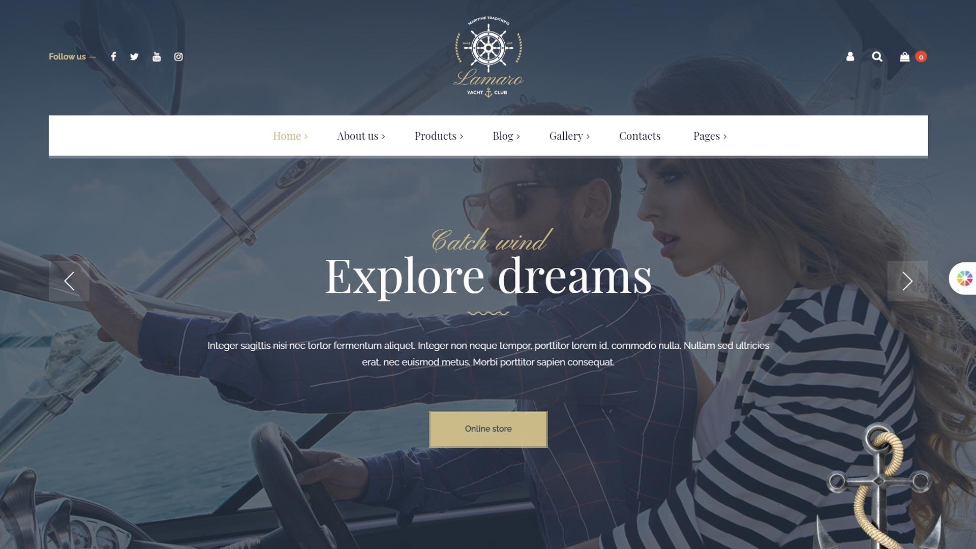 Создание сайтов для туристического агентства