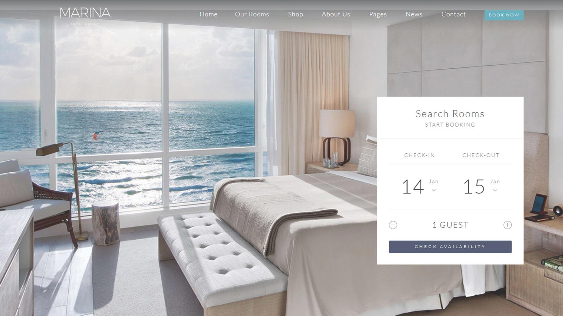 Создание сайтов для туристического и гостиничного бизнеса