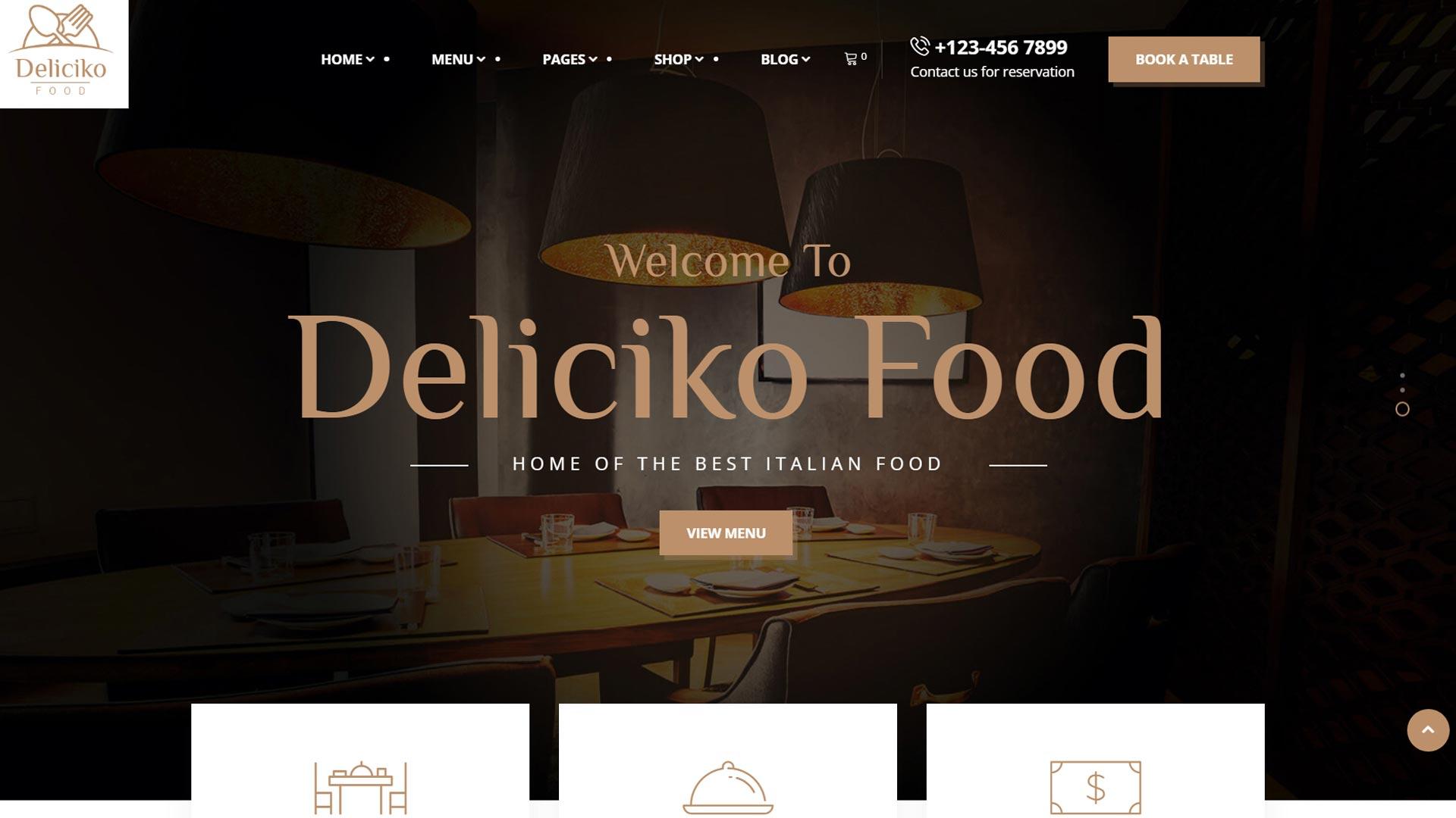 Создание сайтов для ресторанов, кафе, баров, пиццерии