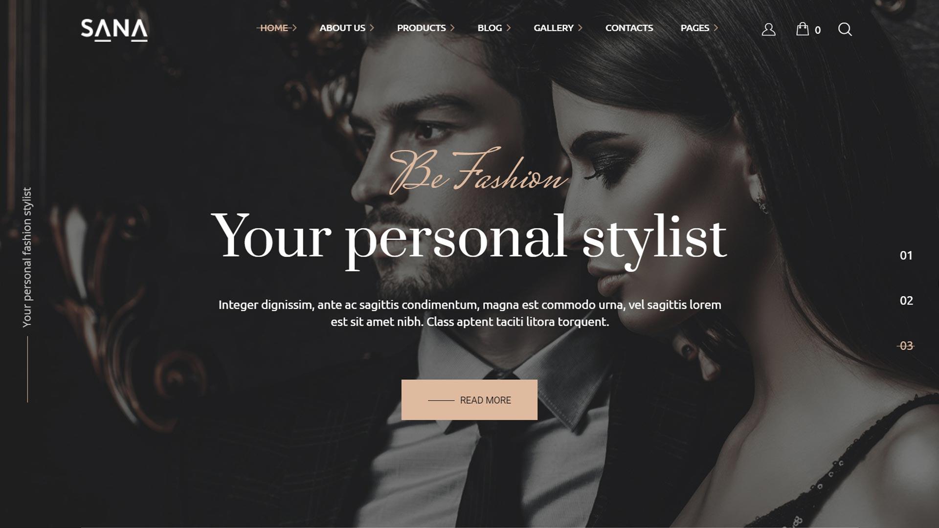 Создание сайтов для салона красоты